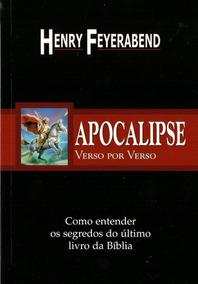 Livro - Apocalipse Verso Por Verso