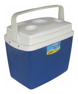 Caixa Térmica Cooler 32 Litros 42 Latas C/ Alça E Porta Copo