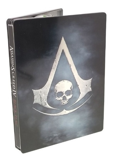 Assassins Creed Iv Black Flag Steelbox Xbox 360 Físico Usado