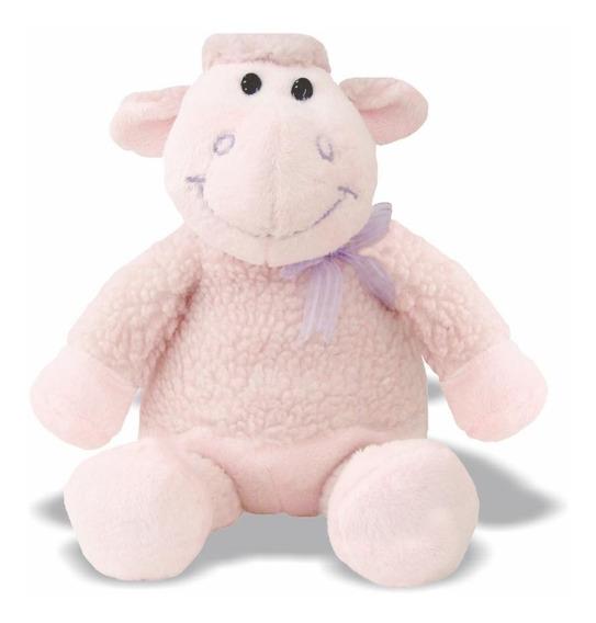 Pelúcia Ovelha Zazá - Rosa - Animais Fazenda - Soft Toys