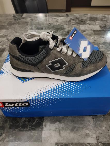 Zapatos Lotto Modelo Loteo Classic 100% Originales Talla 8