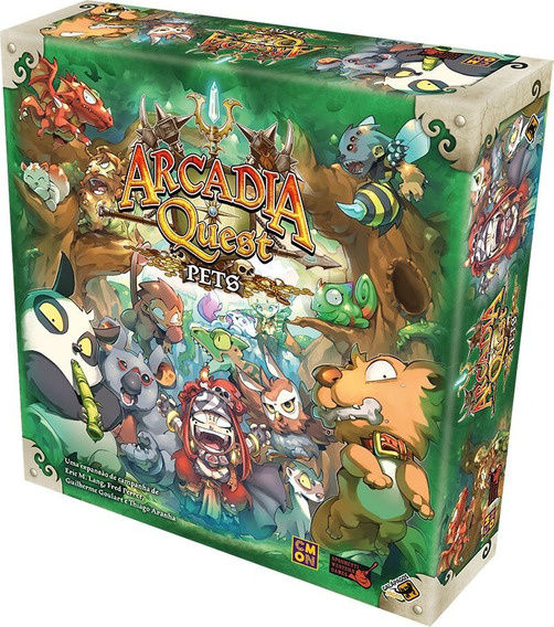 Board Game - Arcadia Quest - Pets (expansão)