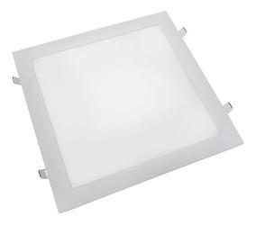 Kit 5 Plafon Led Quadrado 30x30 32w Aaa Luminária Embutir