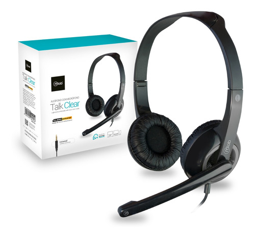 Imagen 1 de 1 de Audífono Con Micrófono Microlab Headset 3.5