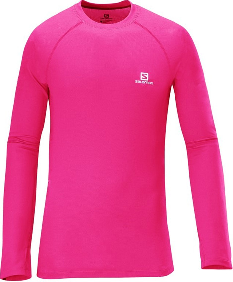 Remera Salomon - Hybrid Ls Tee - Kids