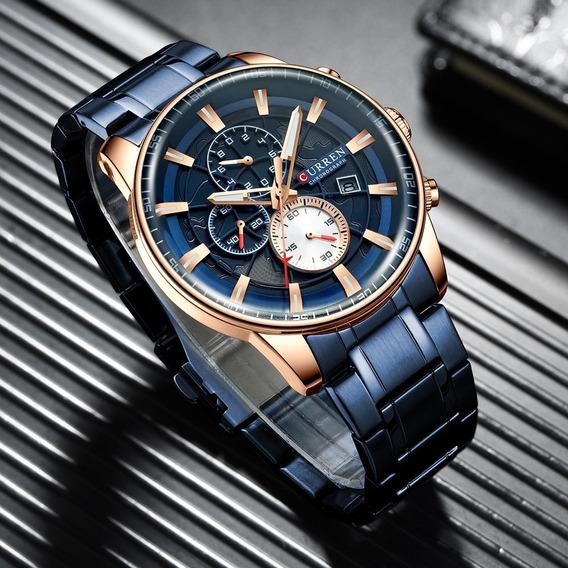 Relógio Masculino Curren Dior 8362 (com Caixa) Garantia 6m