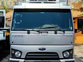Ford Cargo 1119 14/14 Baú Refrigerado De 5.5 Metros