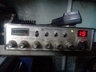 Radio Cb Gtl Cobra 148 Banda Civil