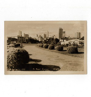 Cartao Postal Fotografico Praça Raul Soares - Bh - Anos 50