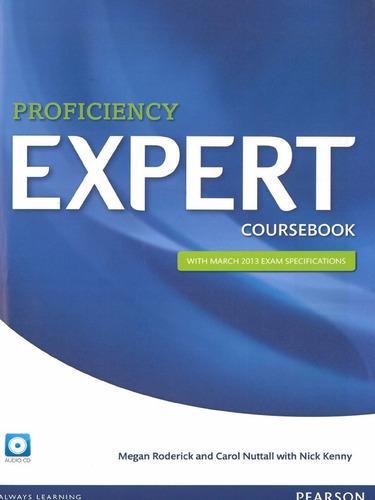 Libro: Proficiency Expert / Coursebook / Pearson