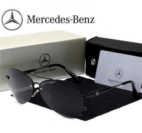 Óculos Mercedes Benz Mb 743 Black