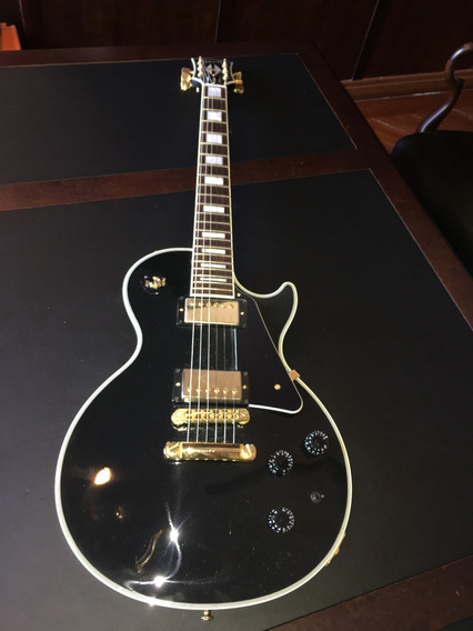 Guitarra Gibson Les Paul Custom Black Beauty