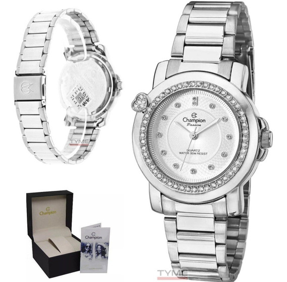 Relógio Champion Feminino Passion Cn29141q Prateado - C/ Nfe