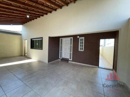 Imagem 1 de 29 de Casa Com 4 Dormitórios, 250 M² - Venda Por R$ 835.000,00 Ou Aluguel Por R$ 5.000,00/mês - Frezzarin - Americana/sp - Ca2959