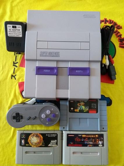 Super Nintendo Fat Completo