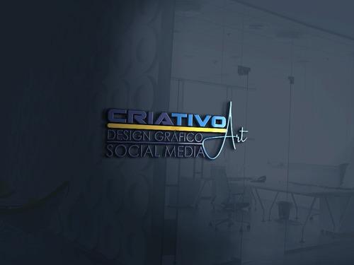 Imagem 1 de 2 de Criativo Art - Designer Gráfico & Social Media