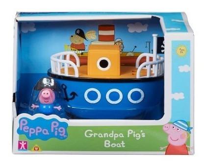 Peppa Pig Vehiculo Auto Mas Muñeco 20cm