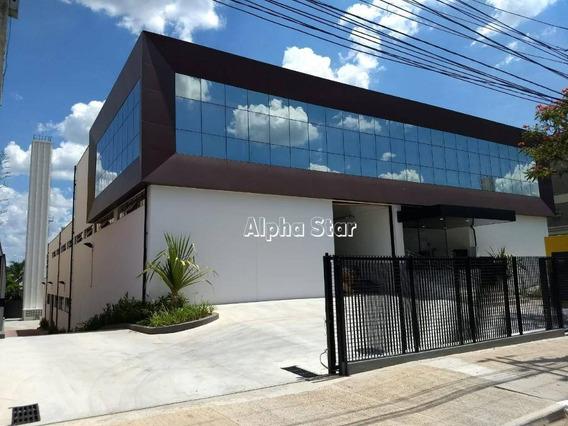 Galpão Para Alugar, 3385 M² Por R$ /mês - Alphaville Empresarial - Barueri/sp - Ga0107