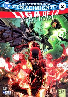 Liga De La Justicia 2 Universo Dc Renacimiento Bryan Hitch