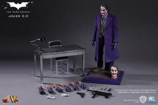 Hot Toys 1/6 Mms Dx11 Joker 2.0 Batman Heath Ledger!!!