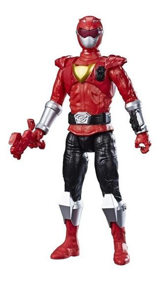 Boneco Power Rangers Titan Ranger Vermelho - Hasbro E7802