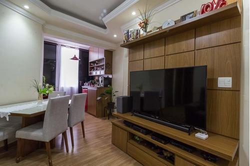 Imagem 1 de 18 de Apartamento 03 Quartos 01 Vaga Coberta - Bairro Camargos -bh - 24665