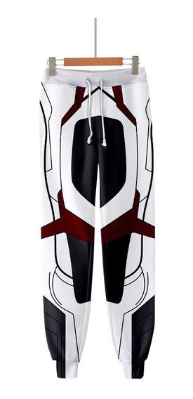 Avengers Endgame Cosplay Quantum Reino Disfraces Pantalones