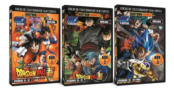 Dvd Dragon Ball Super Completo Totalmente Dublado