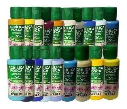 Tinta Acrílica Acrilex Nature Colors Cj 95 *pronta*entrega*
