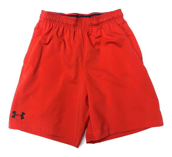 Short Under Armour Color Rojo 100% Nuevo Y Original