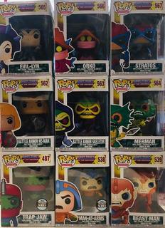 He Man Funko Pop Masters Of The Universe Colección 9 Figuras