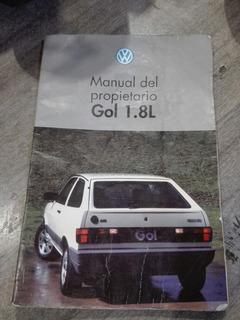 Manual De Propietario Gol 1.8l Nuevo