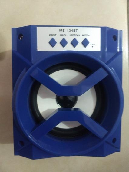 Caixa De Som Ms-133bt Bluetooth