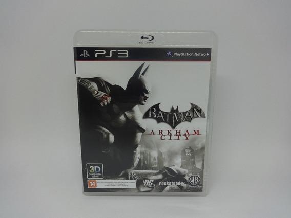 Jogo Batman Arkham City Ps3