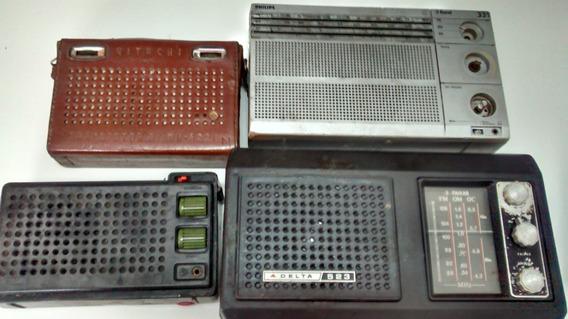 Lote 4 Rádios No Estado