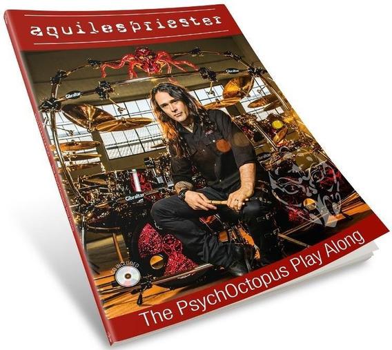 Livro E Cd Aquiles Priester The Psychoctopus Play Along Com