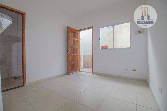Casa Com 1 Dormitório À Venda Por R$ 162.000 - Campo Da Aviação - Praia Grande/sp - Ca0851