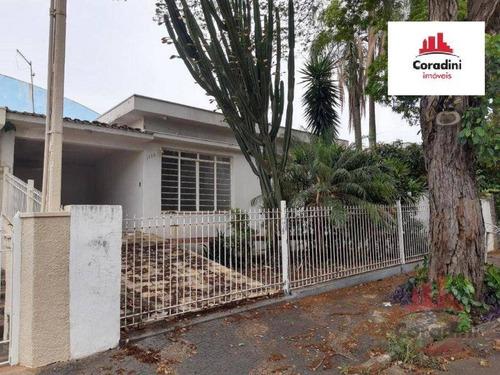 Imagem 1 de 8 de Casa Com 3 Dormitórios À Venda, 184 M² Por R$ 530.000 - Vila Santa Catarina - Americana/sp - Ca3049