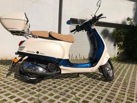 Zanella Styler Exclusive Z3 150 Blanca Y Azul. Como Nueva