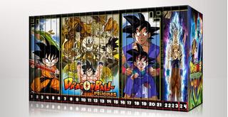 Colección Peliculas Dragon Ball - Z - Gt Dvd / 24 Peliculas