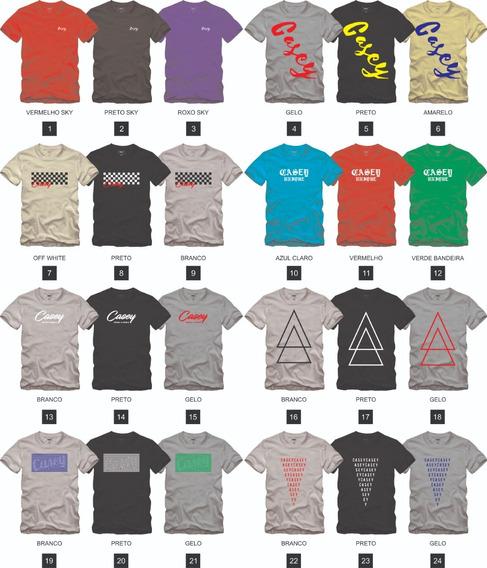 Kit 4 Camisas Camisetas T-shirts