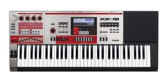 Teclado Sintetizador Casio Xw-g1k2inm2 61 Teclas Com Fonte
