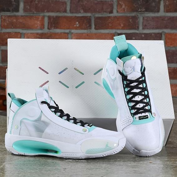 Tenis Nike Jordan 34 Taam 41 Original Frete Gratis