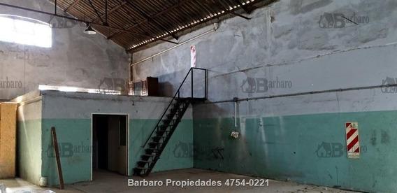 Barbaro Alquila Galpon En San Martin