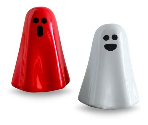 Salero Fantasma Incluye 2 Piezas (rojo Y Blanco)