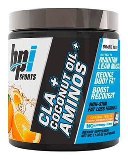 Bpi Sports Cla + Coconut Oil + Aminos 40 Servicios