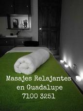Masajes Por Masajista Hombre Prof. Guadalupe, San José