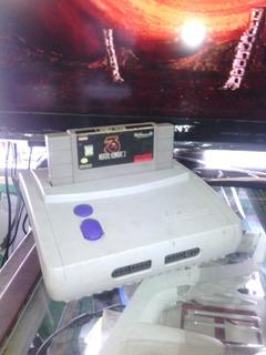Super Nintendo Original Con Mortal Kombat Trilogy 2 Controle