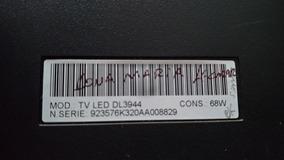 Placa Principal Tv Semp Toshiba Led Dl3944