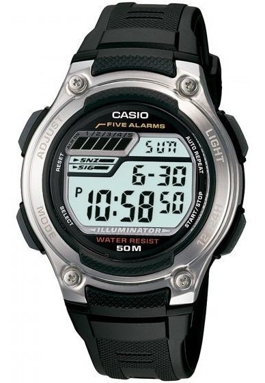 Relógio Casio W-212h-1avdf Masculino Cronógrafo - Refinado